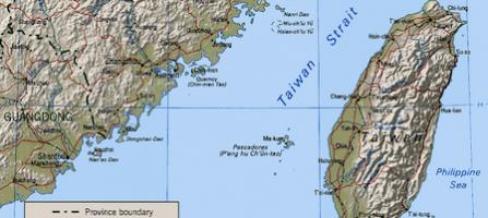 Taiwan è una piccola nazione insulare, a 180 km dalla Cina.